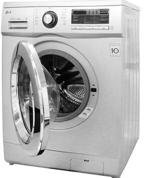 变频省水省电滚筒洗衣机(银色)