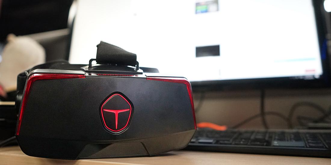 双眼3K分辨率 雷神・幻影VR头显评测